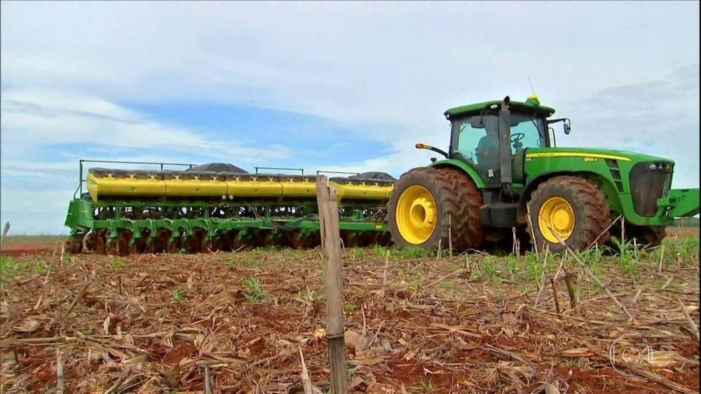 Plantio da soja na Bahia está atrasado; Em Mato Grosso, agricultores antecipam vendas do grão